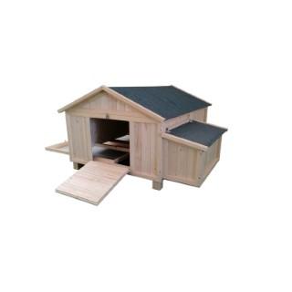 Poulailler Cassie simple de 1,5 m² en bois 663323