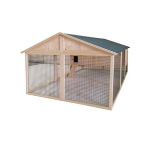 Poulailler Charlie de 5,3 m² en bois avec enclos 663327