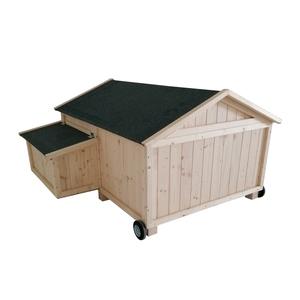 Poulailler Cassie mobile de 1,5 m² en bois 663330