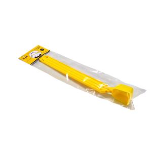 Pince jaune avec dosette pour sac d'alimentation 663642