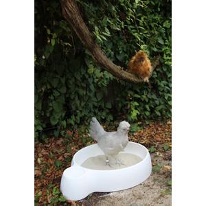 Swimming poule blanche en plastique 663672