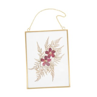 Cadre fleurs séchées - 13x17 cm 663810