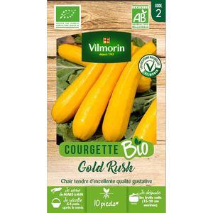 Sachet de graines de Courgette Gold Rush longue jaune Bio 663986