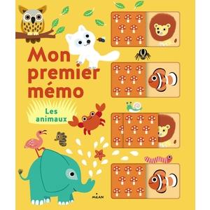 Mon Premier Mémo- les Animaux Mon Premier Mémo dès 2 ans Éditions Milan 664039
