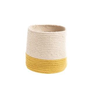 Corbeille Bicolore Ø 15 cm jaune 665507