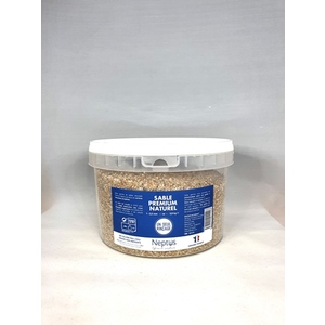 Sable premium naturel semi-fin beige 3,5 L