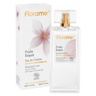 Eau de toilette Fruits Exquis flacon spray 100 ml transparent 672793