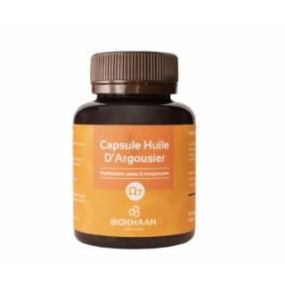 Capsule Huile d'Argousier Pure Oméga 7 (100 capsules) 51 g orange 673687