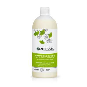 Shampoing douche pour toute la famille Flacon 500 ml blanc 674735
