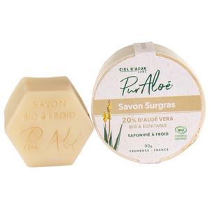 Savon Aloe Vera 20% Bio Surgras Vegan 90 g 674832