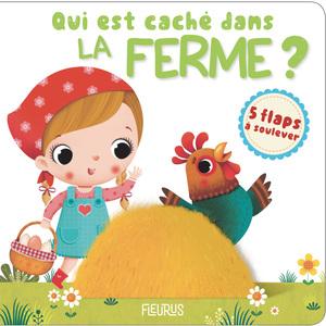 Qui est caché dans la ferme ? aux éditions Fleurus 674937