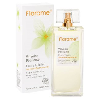 Eau de toilette Verveine Pétillante flacon spray 100 ml transparent 675063