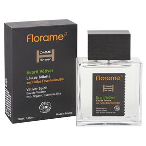 Eau de toilette Homme Esprit Vétiver flacon spray 100 ml transparent 675064