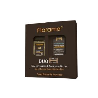 Coffret Eau de toilette/ Shampoing douche L'Eau Aromatique tube et flacon noir 675105