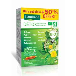 Détox Bio Boîte 20 x 10 ml vert 675179
