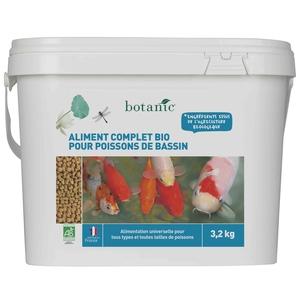 Nourriture pour poissons de bassin Botanic bio 3200 g