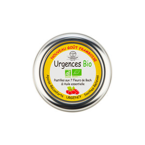 Pastilles Urgences bio en boite de 45 g 676144