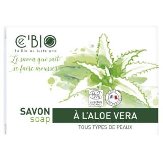 Savon Aloe  Vera Étui 100 g blanc 676664