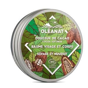 Baume Douceur de cacao biologique Oleanat Pot 50 ml vert 676691