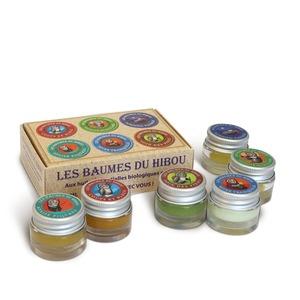 Kit de voyage Baumes biologiques 6 pots  6 x 7 ml multicolore 676694