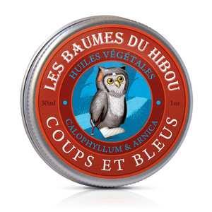 Baume Coups et Bleus biologique Boîte 30 ml rouge 676695