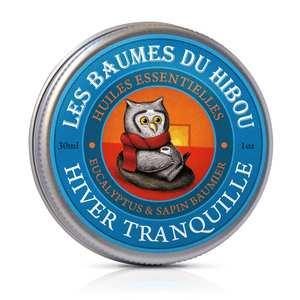 Baume Hiver Tranquille biologique Boîte 30 ml bleu 676696