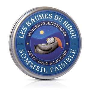 Baume Sommeil Paisible biologique Boîte 30 ml bleu 676699