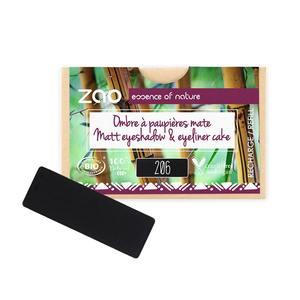 Recharge Ombre à paupières rectangle 206 noir/ Eye-liner cake 1g noir 677066