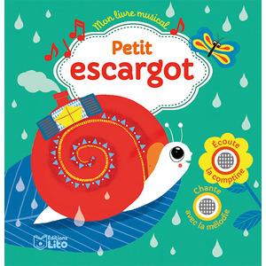 Mon livre musical – Petit escargot aux éditions Lito 677297