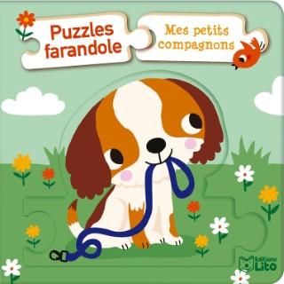 Puzzles farandole – Mes petits compagnons aux éditions Lito 677330
