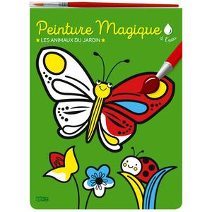 Peinture magique à l'eau – Les animaux du jardin aux éditions Lito 677331