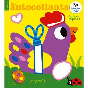 Les autocollants de Marion Billet – Joyeuses Pâques aux éditions Lito 677337