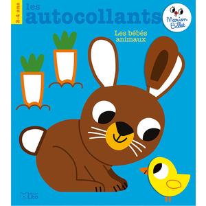 Les autocollants de Marion Billet -  Les bébés animaux éditions Lito 677352