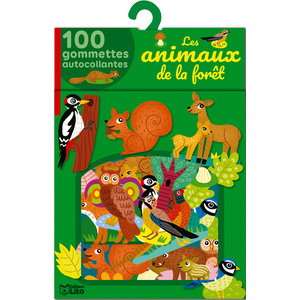 Mes gommettes Lito – Les animaux de la forêt 677366