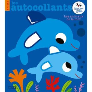 Les autocollants de Marion Billet -  Les animaux de la mer édit. Lito 677378