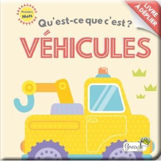 Qu'est-ce que c'est ? - véhicules aux éditions Grenouille 677808