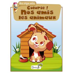 Colorie ! Nos amis les animaux aux éditions Grenouille 677829