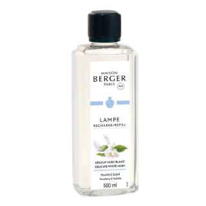 Parfum délicat musc blanc en flacon de 500 ml 678621