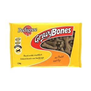 Friandise 1,5kg Gravy Bones poulet Pedigree