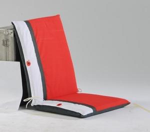 Coussin pour fauteuil haut dossier Coquelicot