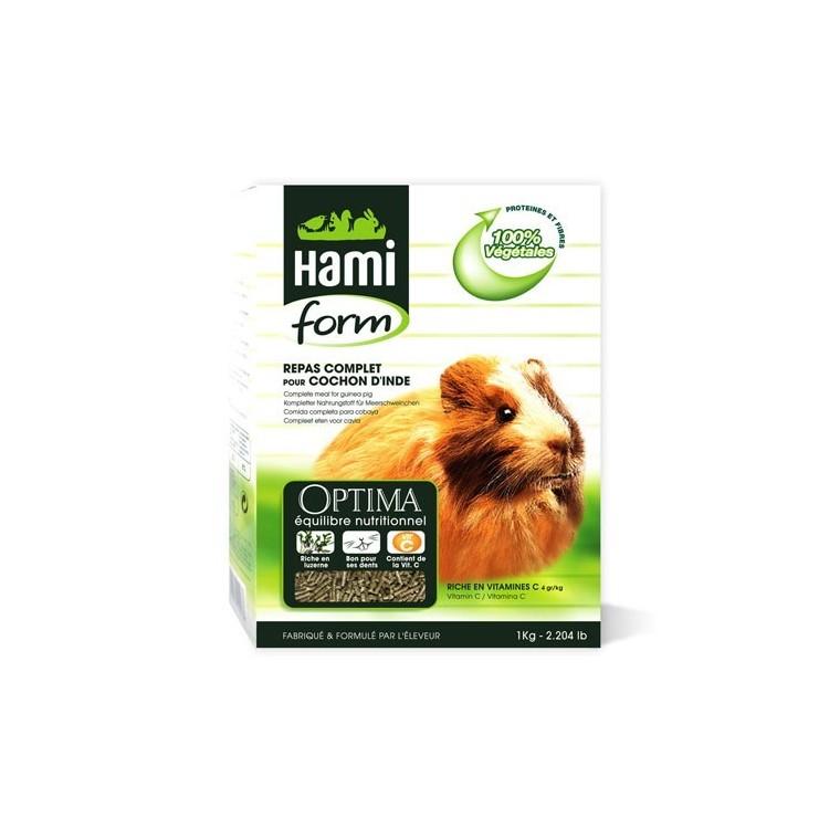 Repas complet cobaye Hamiform 1kg 609515