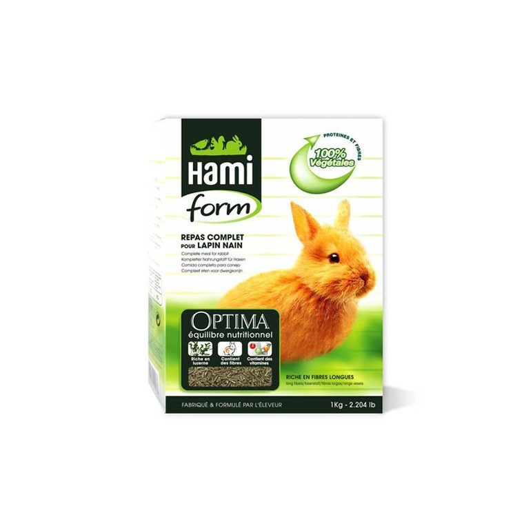 Repas complet lapin Hamiform 1 kg 609535