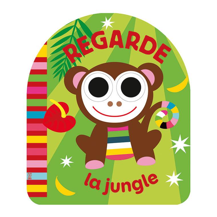 Regarde la Jungle Les Yeux qui Bougent 1 an Éditions Lito 612288