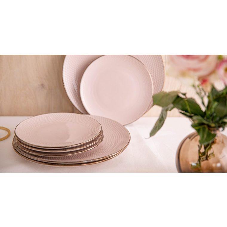 Assiette plate beige dolom Ø 27,2 cm 616691