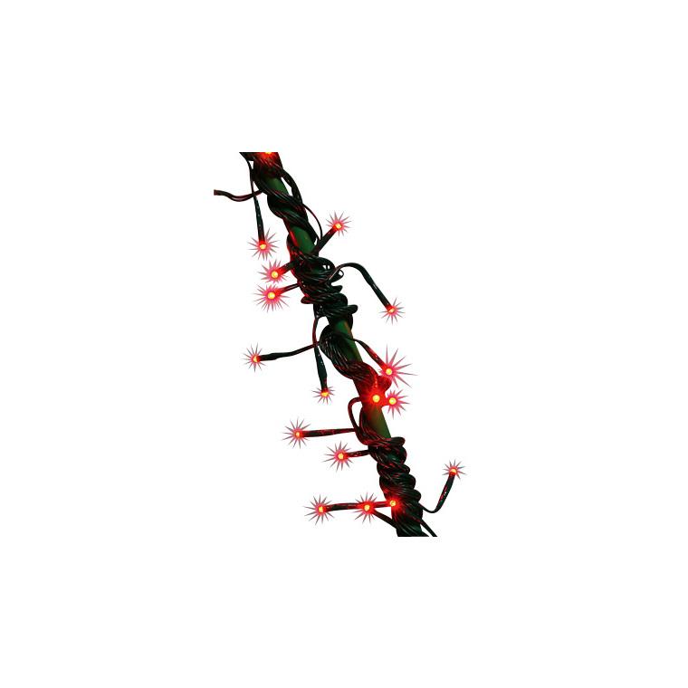 Guirlande Flicker Led rouge 5 mètres 628417