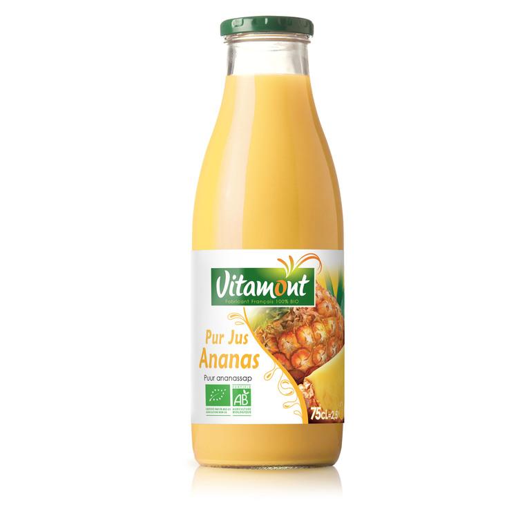 Jus d'ananas bio 75 cl 632810