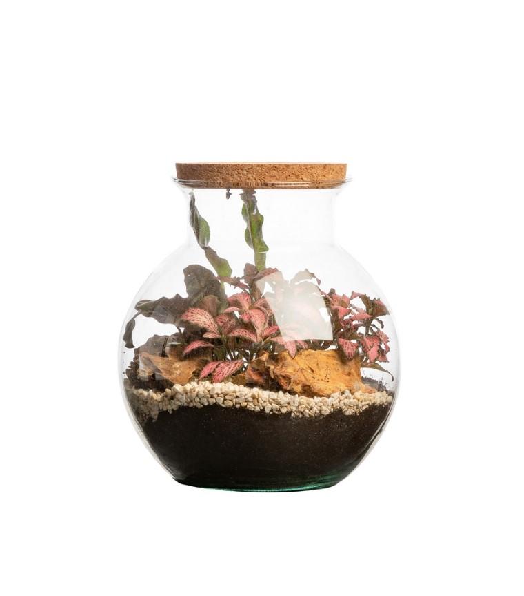 Terrarium havana Bulle de Nature taille L Ø 25 x h 27 cm 635485