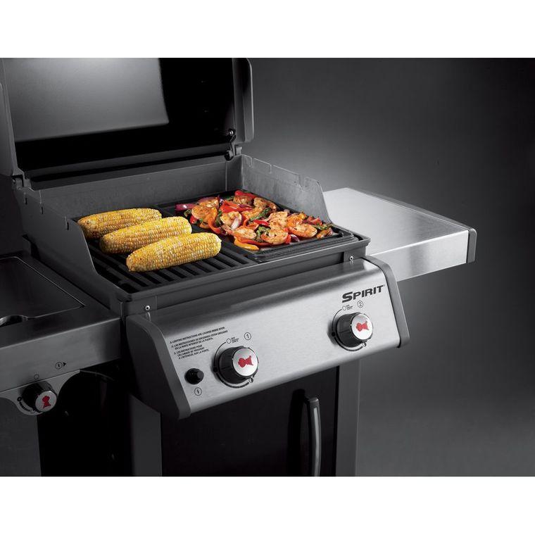 Plancha pour barbecue Weber Spirit 2 brûleurs 63727