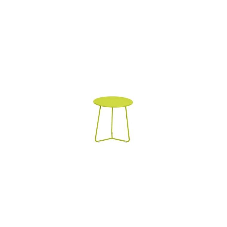 Table basse cocotte coloris verveine de 34 x 36 xcm 641632