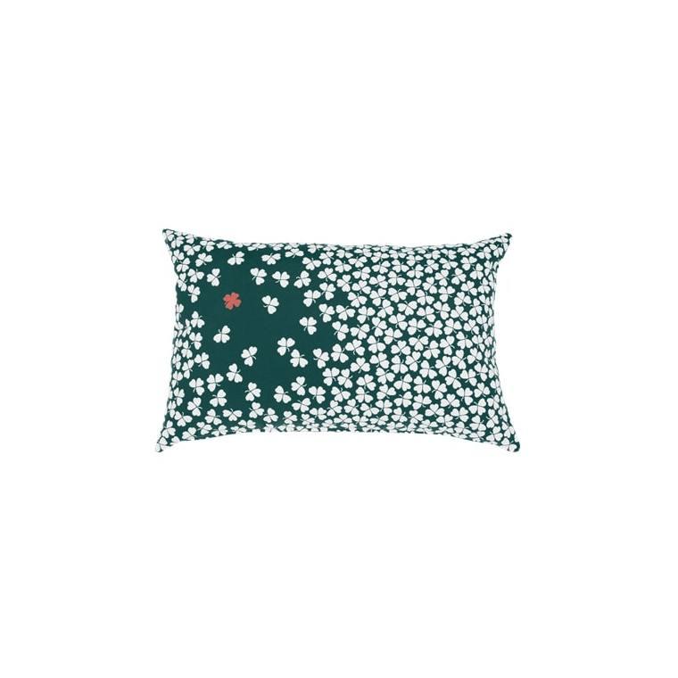 Coussin trèfle Fermob coloris vert cèdre en acrylique 44 x 68 cm 641646